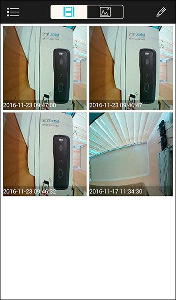DMSS просмотр фото и видео