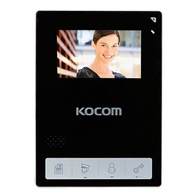 Kocom KCV-A434 SD Black