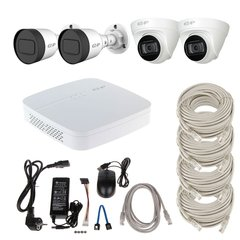 Dahua IP-KIT2x2х1080P-Mix